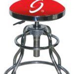 Sunex 8516 Hydraulic Shop Stool, Chrome
