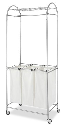 Whitmor 6705-2815 Deluxe Laundry Center, Silver
