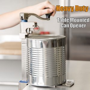 top rated heavy duty table top can opener reviews