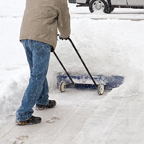 Лопата для снега своими руками шустрик
