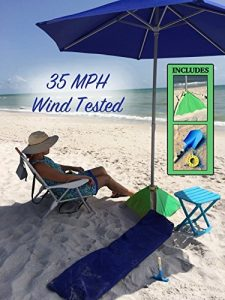 best heavy duty beach umbrella that won't blow away