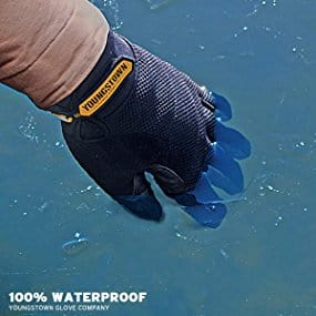 winter work glove waterproof reviews