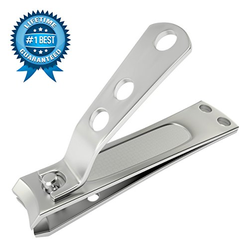 KlipPro Large Nail Clipper for Fingernails or Toenails