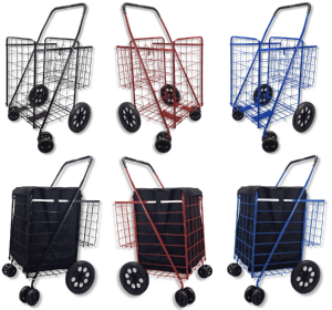 best heavy duty folding grocery carts