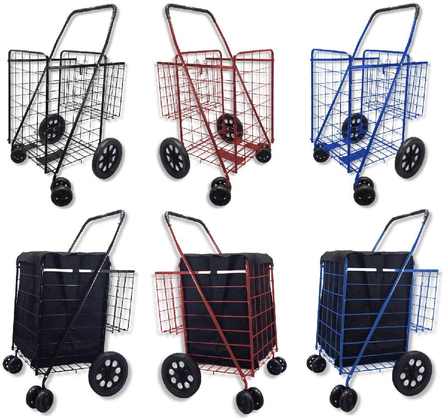 best heavy duty folding grocery carts