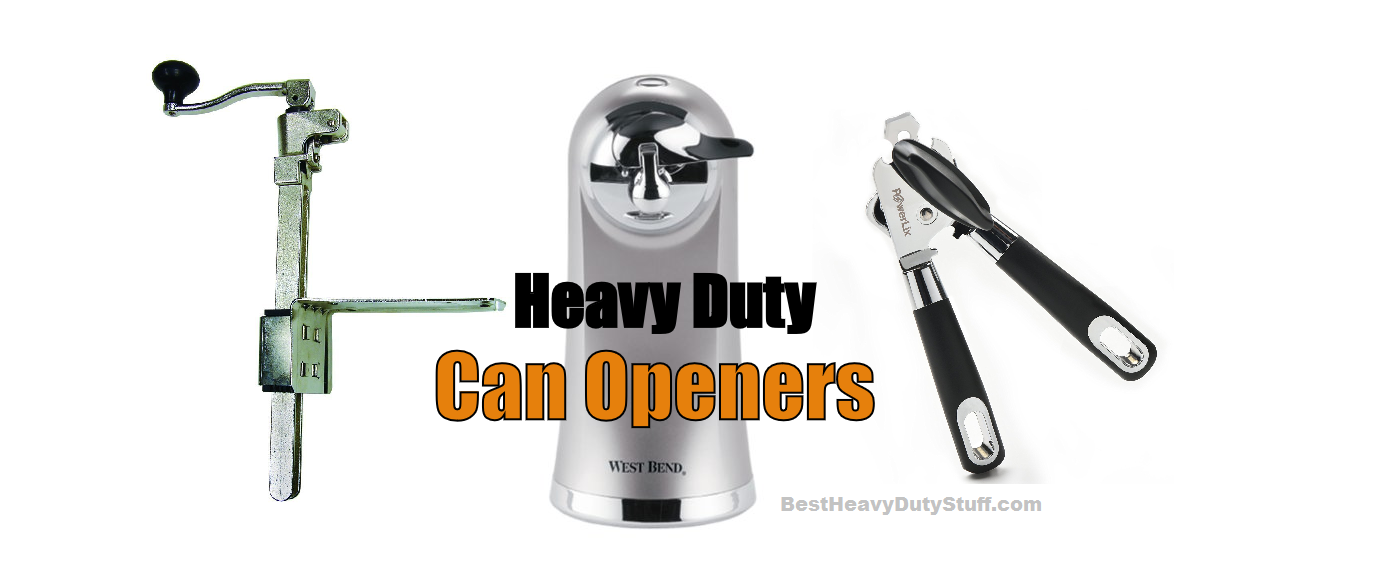 top rated heavy duty can opener manual electric table mounted