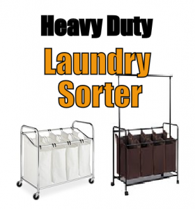 Top rated heavy duty laundry sorter hamper