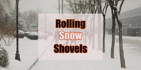best push shovel on wheels