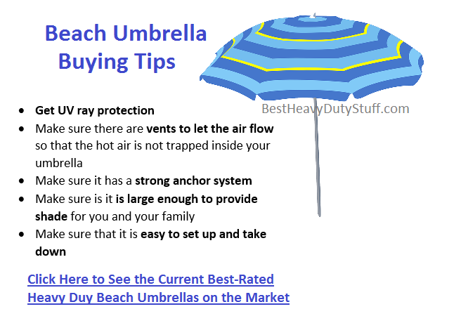 best beach umbrella uv protection wind resistant