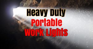 top rated heavy duty portable work lights for construction sale