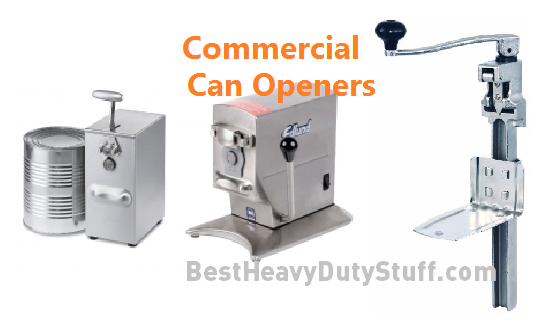 top rated heavy duty table mounted can openers