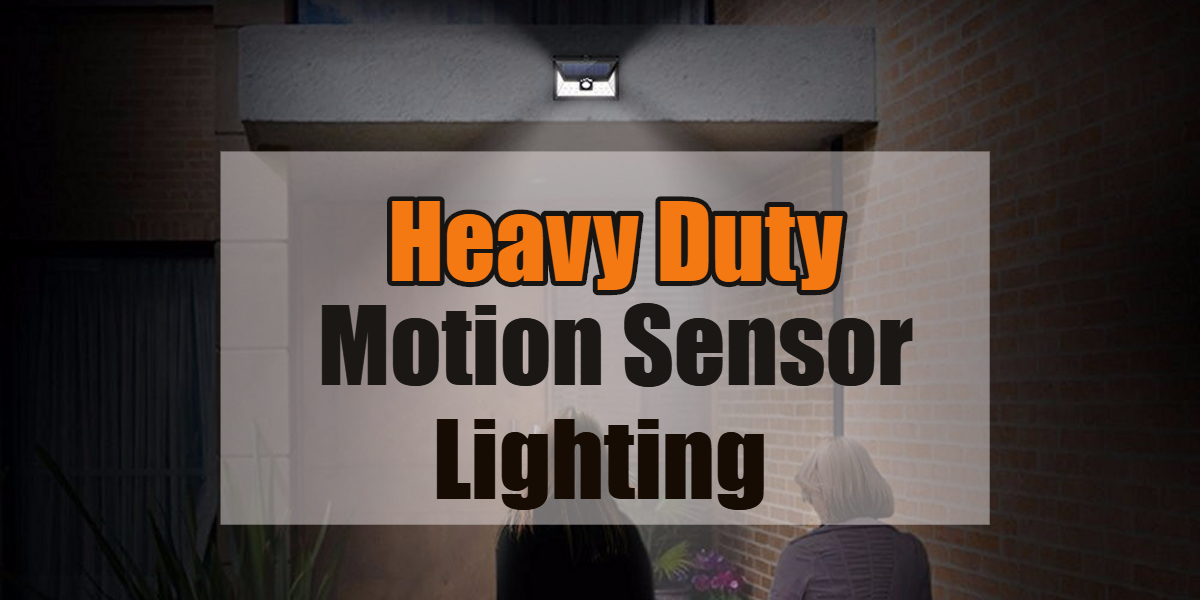 best outdoor motion sensor security lighting