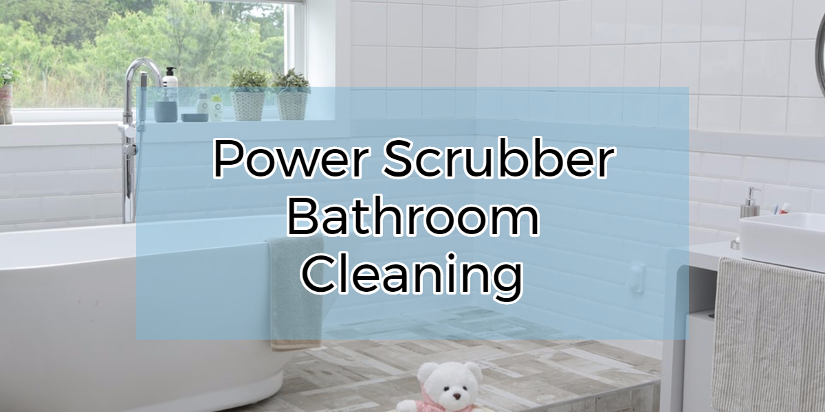 Power Bathroom Scrubber
