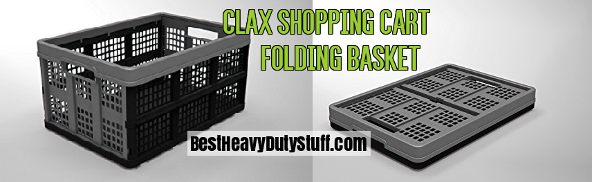 Clax folding shopping baskets for cart