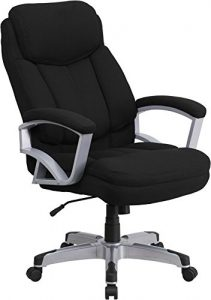 500 lb capacity fabric executive office chair for heavy people