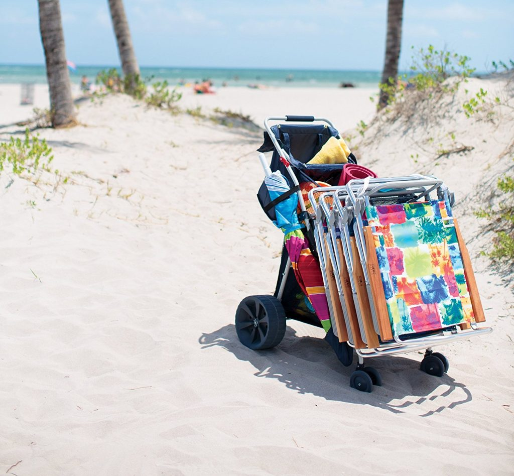 Best Heavy Duty Beach Carts And Wagons For Sand Review Guide