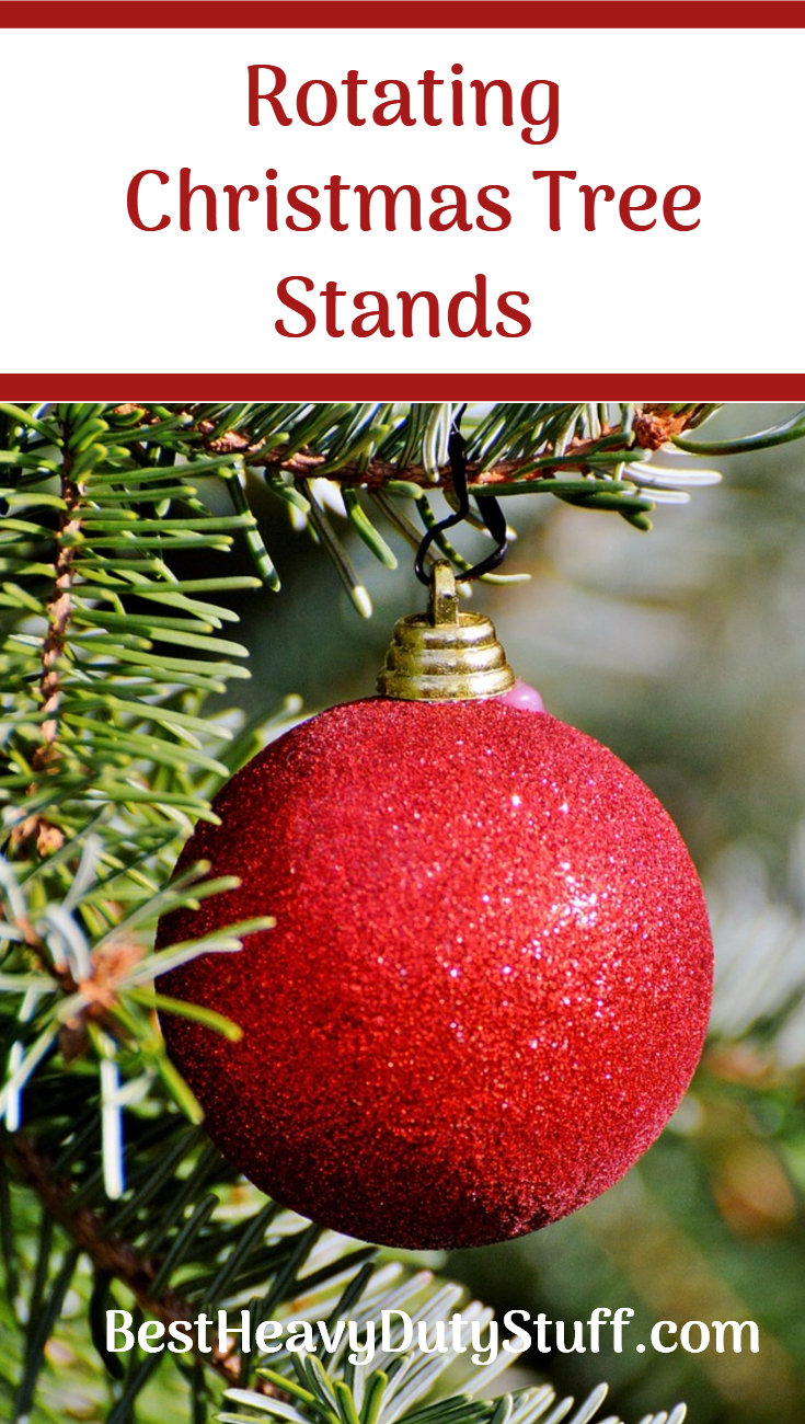 Best rotating christmas tree stands best heavy duty stuff for Motorized rotating christmas tree stand