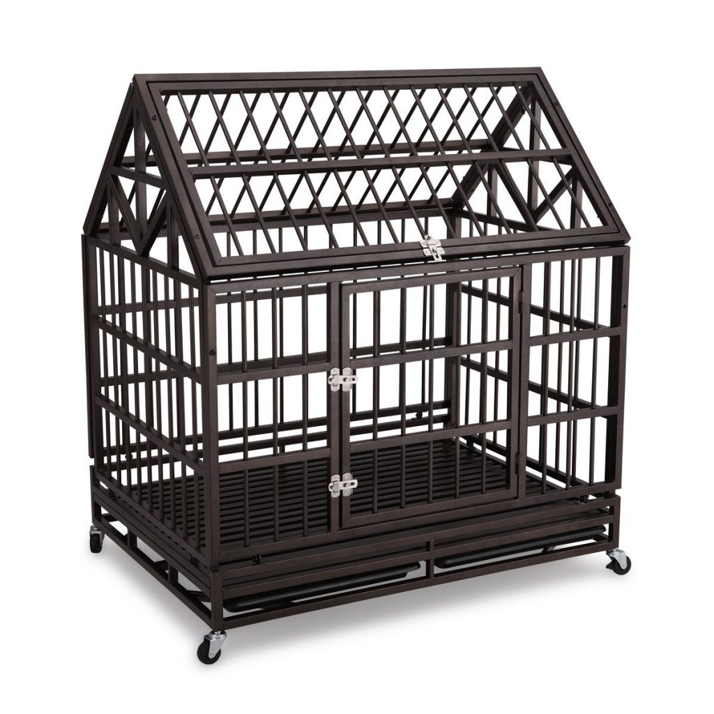 42 Inch heavy duty dog cage