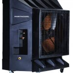 Large Capacity Outdoor Evaporative Cooler for Work or Home