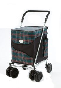 Best Heavy Duty Folding Shopping Cart with Swivel Wheels Review and Sale
