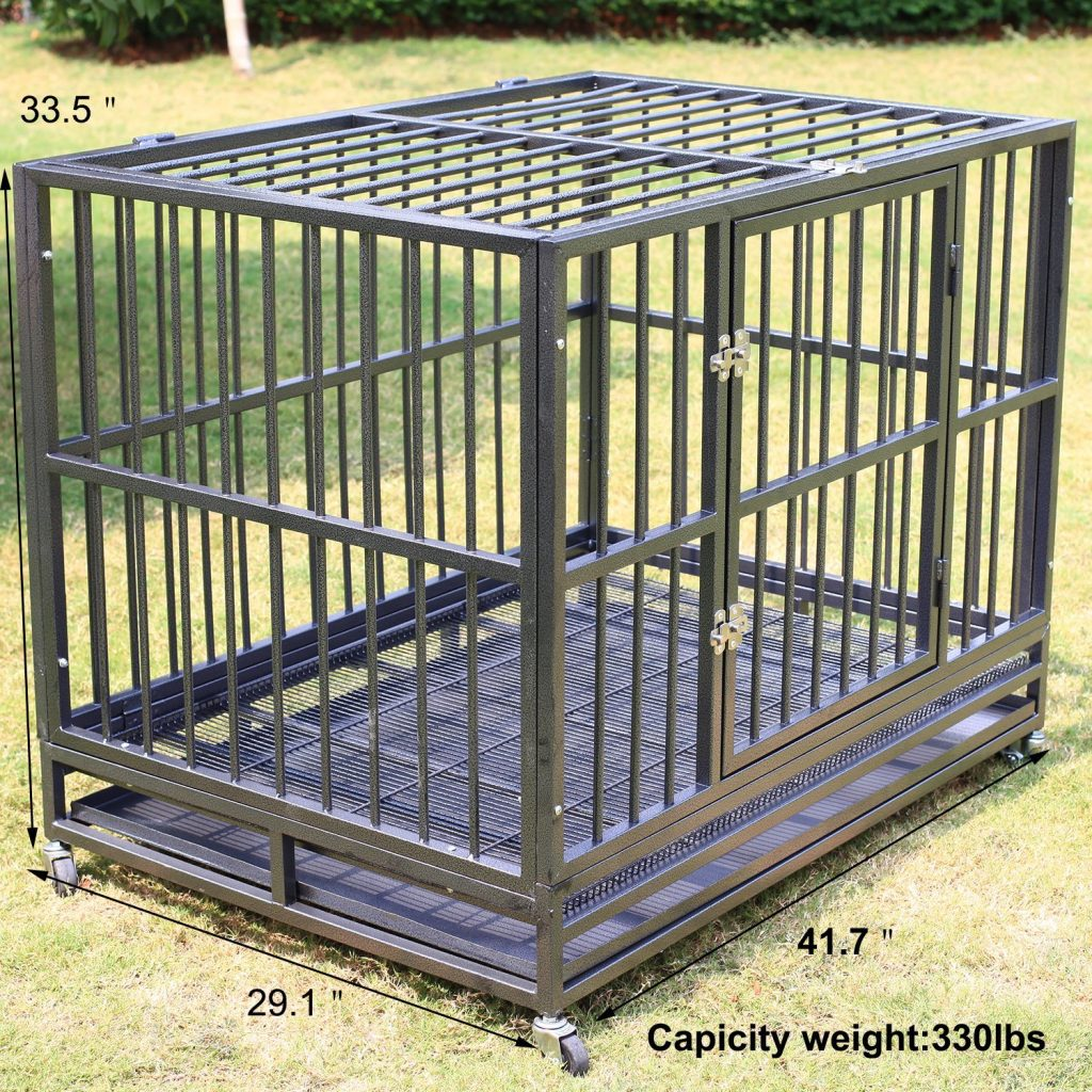 Sliverylake XXL 42 inch heavy duty dog cage review