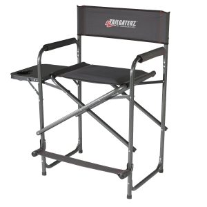 Best heavy duty folding directors chair with side table