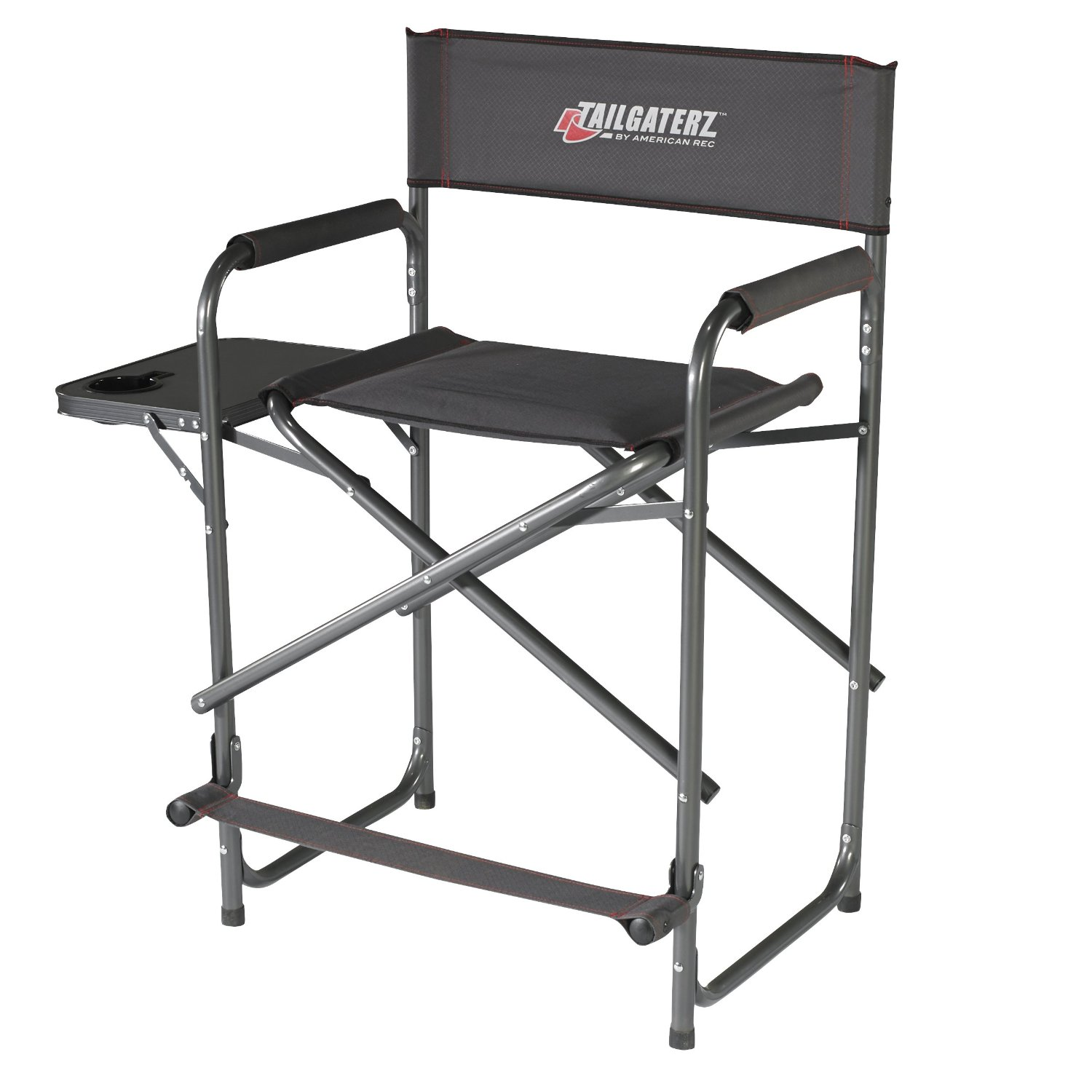 ... NameTailgaterz Heavy Duty Tall Folding Camping Directors Chair Review  ...