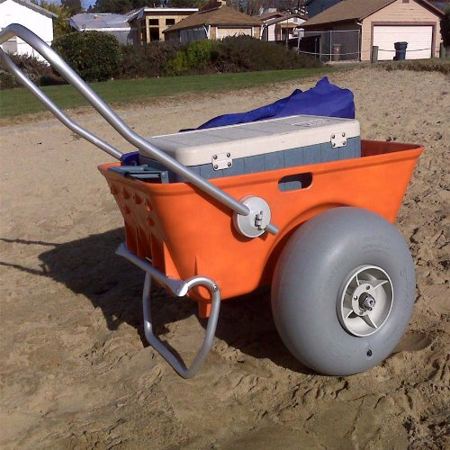 Wheeleez Heavy Duty Beach Cart Review