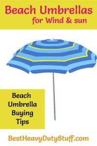 Best Beach Umbrella for Wind