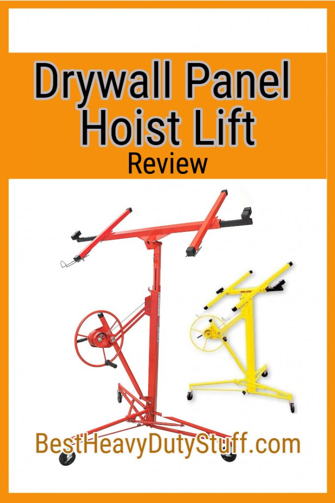 Top rated drywall hoist lifts on the market today