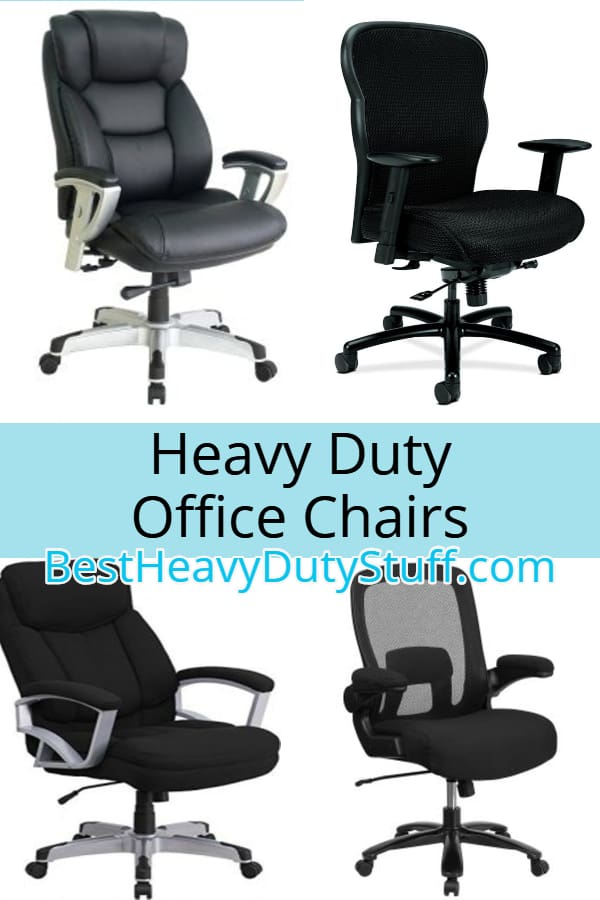 Office Chairs for Big and Tall people. High weight capacity chairs of 300 400 and 500 lbs