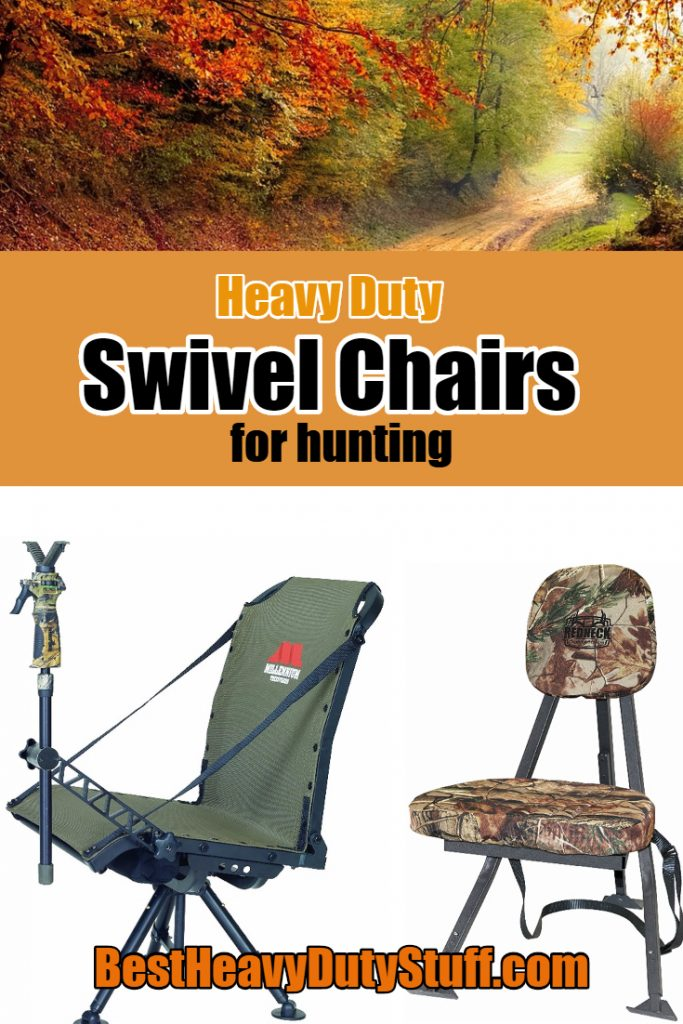 Best Heavy Duty Swivel Hunting Chairs For Big And Large People