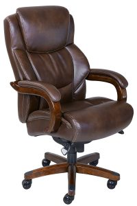 Executive Leather Office Chair for Heavy People