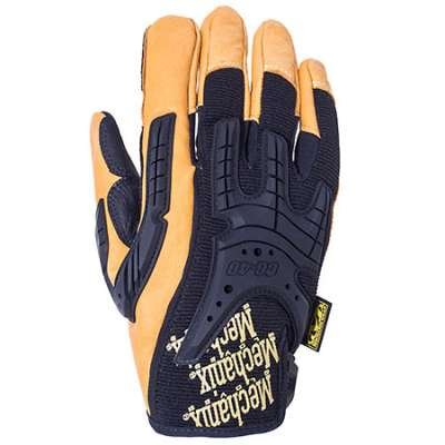 Mechanix Gloves: Leather Heavy Duty Work Gloves