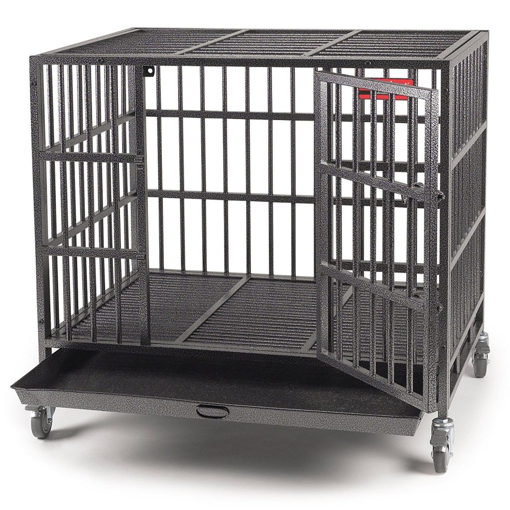 ProSelect heavy duty dog cage for medium and large dogs