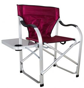 stylish products folding camping chair with high weight capacity - heavy duty
